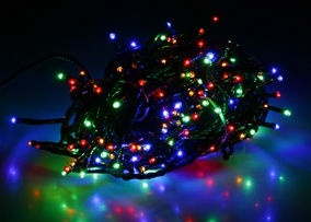 Verners LED Garland 16m Multi Color