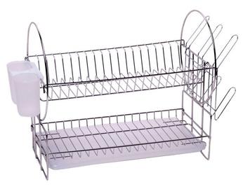Kamille Dish Rack 53x23x35cm Metallic