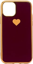 Fusion Heart Back Case For Apple iPhone 11 Pro Red