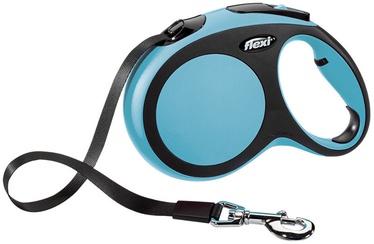 Flexi New Comfort Lead L 8m Blue