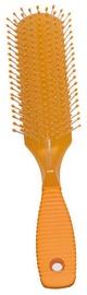 Titania Hair Brush With Rubber Handle Orange