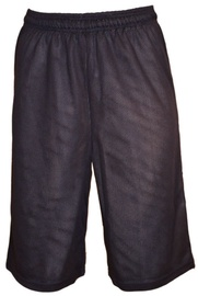 Bars Mens Basketball Shorts Dark Blue 176 XL