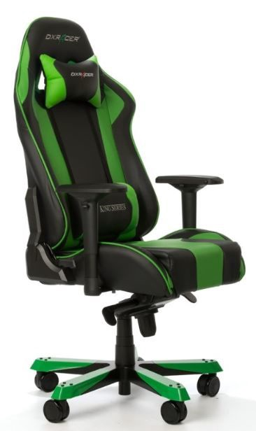 DXRacer Gaming Chair King K06-NE Black/Green