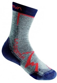 La Sportiva Socks Mountain Grey/Navy Blue L