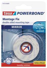 Kinnitusteip niiskuskindel Tesa Powerbond Mirror 1,5m x 19mm