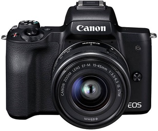 Canon EOS M50 EF-M 15-45mm IS STM Black