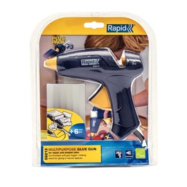Rapid EG212 12mm Glue Gun + 6 Glue Sticks