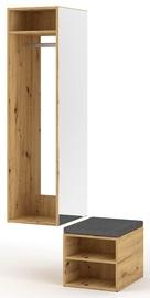 Vivaldi Meble Clever Hallway Unit Artisan Oak