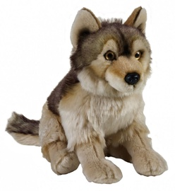 Pehme mänguasi Dante National Geographic Wolf, 25 cm