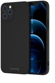 Swissten Soft Joy Silicone Case Apple iPhone 12 / 12 Pro Black