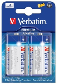 Verbatim Alkaline Battery D 2pcs