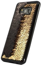 TakeMe Magic Shine Paillette Back Case For Samsung Galaxy S8 Gold/Black