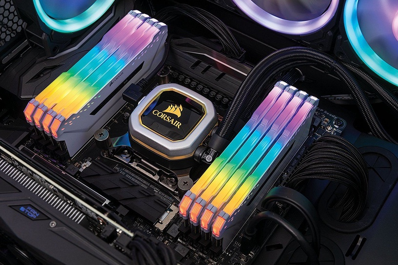 Corsair Vengeance RGB Pro White Series 64GB 3200MHz CL16 DDR4 KIT OF 8 CMW64GX4M8C3200C16W