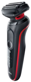 Braun Series 5 50-R1000s Shaver Black/Red