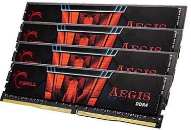 G.SKILL Aegis DDR4 32GB 3200MHz CL16 KIT OF 4 F4-3200C16Q-32GIS
