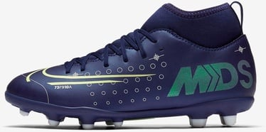 Nike Mercurial Superfly 7 Club MDS FG/MG JR BQ5418 401 Blue 37.5