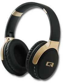 Qoltec Premium Bluetooth Headphones Black 50815