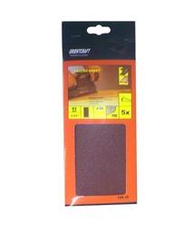 Ristkülikukujuline liivapaber Vagner SDH 108.30 80, 230x93 mm, 5 tk