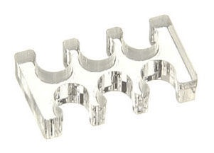 E22 Cable Comb 6 Slots 3mm Small Clear