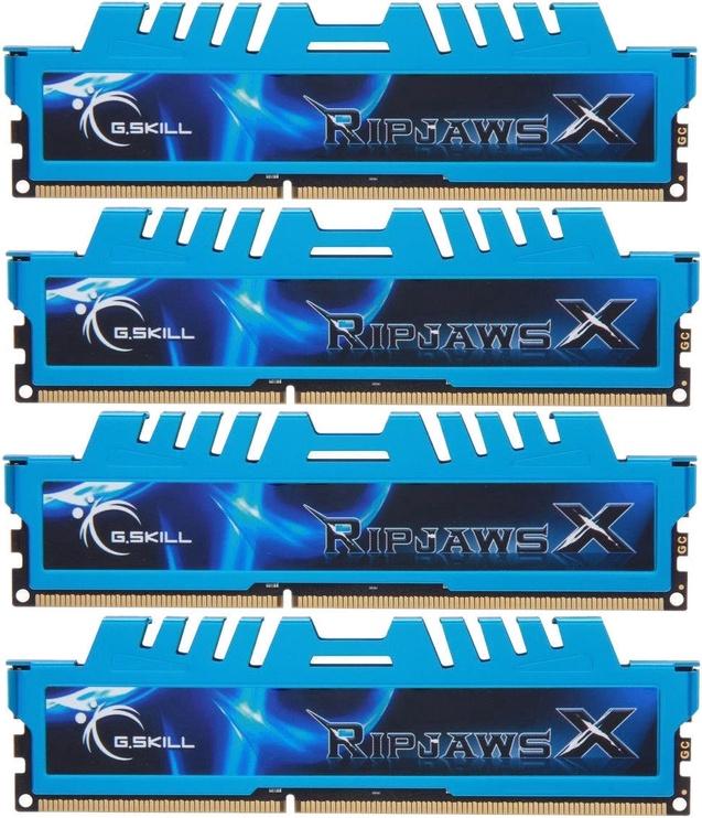 G.SKILL RipjawsX 16GB 2400MHz CL11 DDR3 KIT OF 4 F3-2400C11Q-16GXM