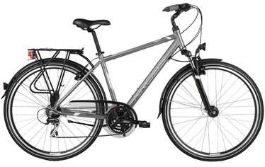 "Jalgratas Kross Trans Siberian L 28"" Graphite White Matte 17"