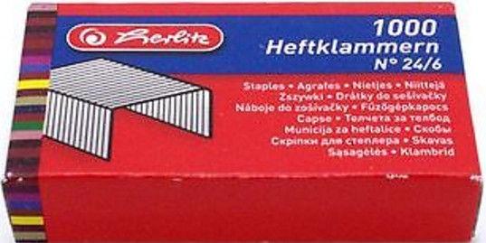 Herlitz Staples No.24/6 08760514 1000pcs