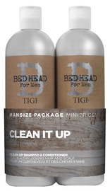 Tigi Bed Head For Men Clean It Up 750ml Shampoo + 750ml Conditioner