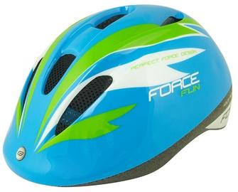Kiiver Force Fun Stripes F9022454, sinine/kollane/roheline, M, 520 - 560 mm