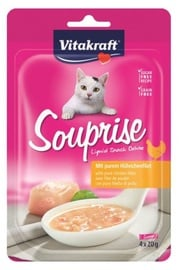 Vitakraft Souprise Cat Snacks w/ Chicken 4x20g