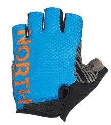 Northwave Blaze Short Gloves Blue/Orange XL