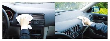 Niisked autosalongi puhastuslapid J020031, 40 tk