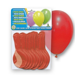 SN Balloons Red 12pcs 5106-45