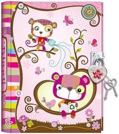 Pulio Pecoware Padlock Diary 530PES Animals