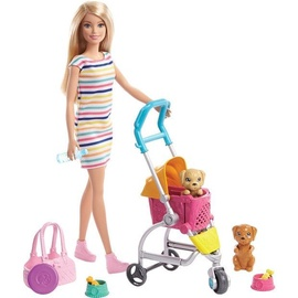 Nukk Mattel Barbie Stroll'n Play Pups GHV92