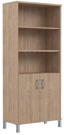 Skyland Born Office Cabinet B 430.3 RZ Devon Oak