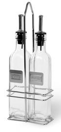 Fissman Oil & Vinegar Bottle Set With Rack 2x250ml