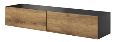 ТВ стол Halmar Livo RTV 160W Anthracite/Votan Oak, 1600x400x300 мм