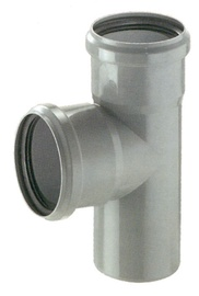Magnaplast 3-Way Connector Pipe Grey 90° 110mm