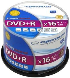 Esperanza 1115 DVD+R 16x 4.7GB Cake Box 50DVD's