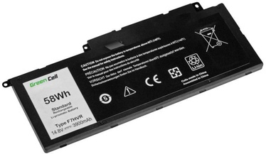 Green Cell F7HVR Laptop Battery For Dell