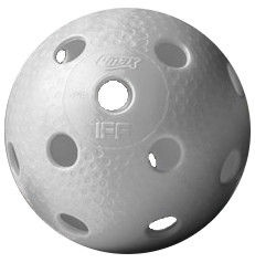 Q-max Floorball Ball Star White