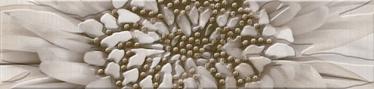 Golden Tile Zebrano Tile Border 6x25cm Beige