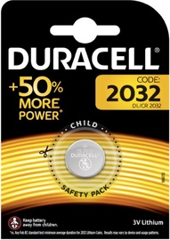 Duracell DL2032 Lithium Battery x 1