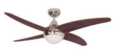 Светильник с вентилятором LC48-CH-R4W1CLIP, E14, 2x40Вт