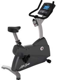 Life Fitness C1 Upright Lifecycle Exercise Bike with GO Console