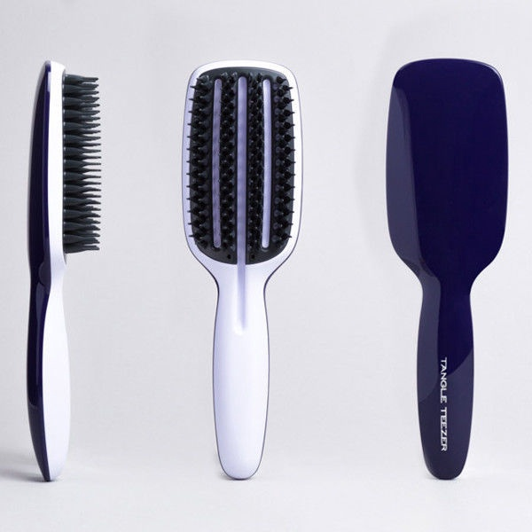 Tangle Teezer Blow Styling Half Paddle Brush Navy/White