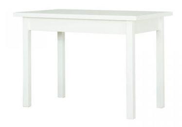 Обеденный стол Bodzio S43 White, 1100x670x790 мм