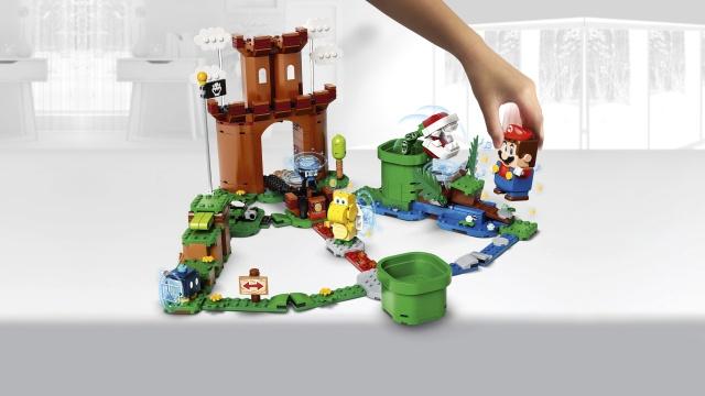 Konstruktor LEGO®Super Mario 71362 Valvega linnuse laienduskomplekt