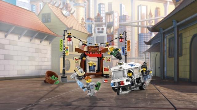 KONSTRUKTOR LEGO NINJAGO 70607
