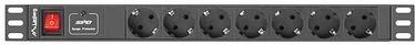 Lanberg PDU-07F-0200-BK 7 Sockets 2m Black